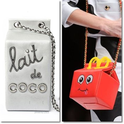 stop at handbags classic, elegant and sophisticated. The fashion handbags are inspired by everyday objects