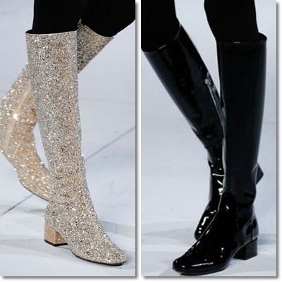 which shoes you wear in winter? low-heeled boots, high heels, boots. all accessories fashion of winter 2014